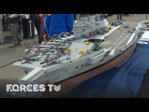 25 Years In The Making: HMS Ark Royal In Miniature | Forces TV