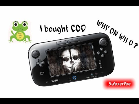 Why I bought Call of Duty:Ghost for Nintendo  Wii U? hmm I like move controls