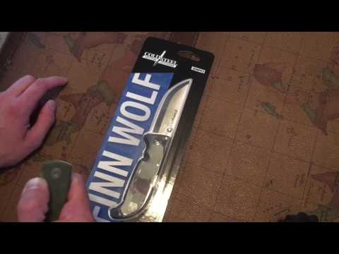 Cold Steel Finn Wolf Unboxing