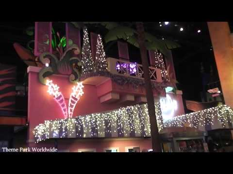Christmas Decorations At Disneyland Paris HD