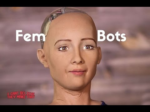 Robot Human Like Face - Female  - I Cant Believe They Make That