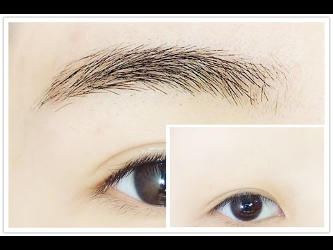 How to : Shape, Trim, Cover Eyebrow, Remove Glue and Concealer