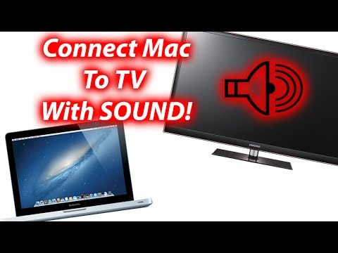 How To Connect Mac To TV With Sound From TV