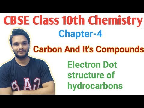 ELECTRON DOT STRUCTURE OF HYDROCARBONS