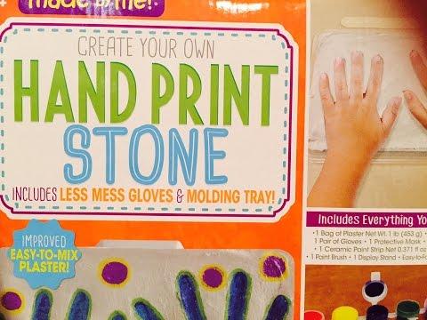Hand Print Stone Kit Fail