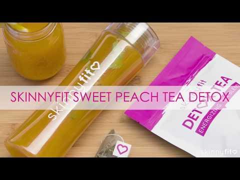 Metabolism Boosting SkinnyFit Peach Sweet Tea Recipe