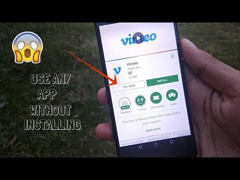 HOW TO INSTALL APPS WITHOUT INSTALLING  Play Store Hidden Features  Instant Apps Tutorial  