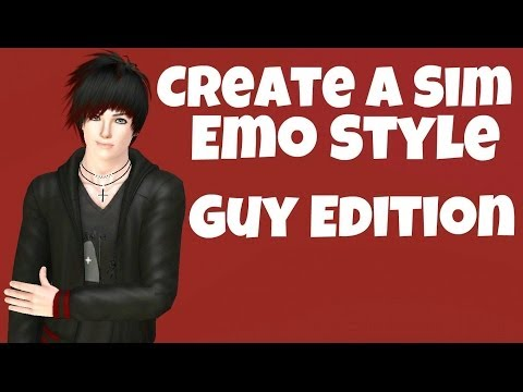 The Sims 3 : Create A Sim - Emo Style - Guy Edition (Requested)