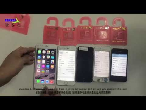 R-SIM10 for iPhone 6P,6,5S,5C,5,4S, Easy Unlocking and Activation