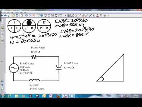Power in a Series RLC Circuit.wmv