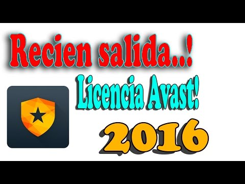 Descargar Licencia para Avast 10 2015 (Nuevo)