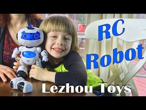 💚 RC ROBOT LEZHOU TOYS Walking Talking, Musical TOY ROBOT (DISCOUNT COUPON!) REVIEW 👈