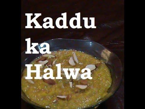 Making Kaddu Ka Halwa( navrater dish)
