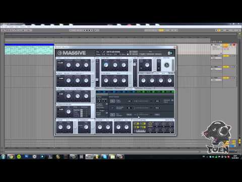 How To: Pluck in Massive (The Veldt by Deadmau5) (Tutorial w. Tuen)