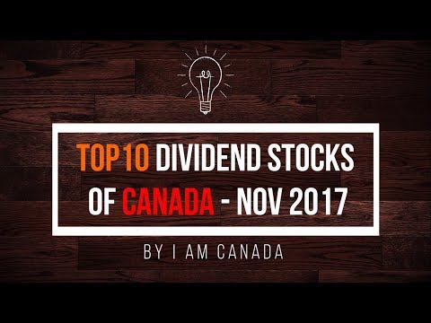 Highest paying Dividend Stocks of Canada