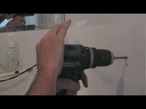 How to Drill a Hole in a Ceramic Tile. GREAT TIP!