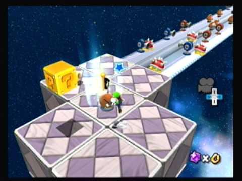 Super Mario Galaxy 2 Custom Level- Spiky Galaxy