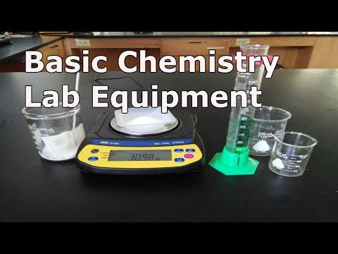 Basic Chemistry Lab Equipment