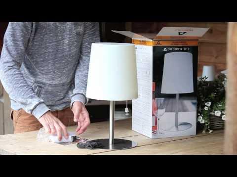 GACOLI - Checkmate No 2. Unique solar outdoor table lighting