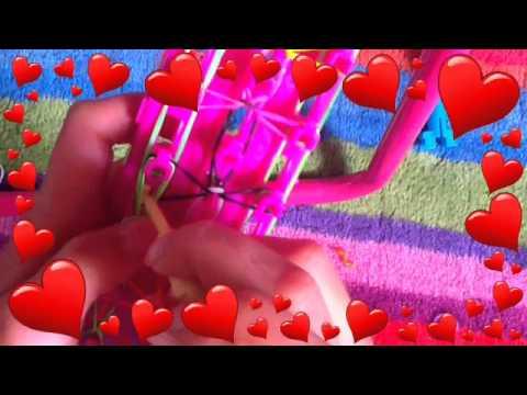 How to make the bridge style bracelet on crazy loom