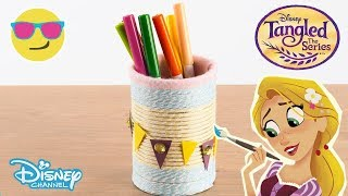 Tangled: The Series | Pen Pot Tutorial ✒️ ✏️  | Official Disney Channel UK