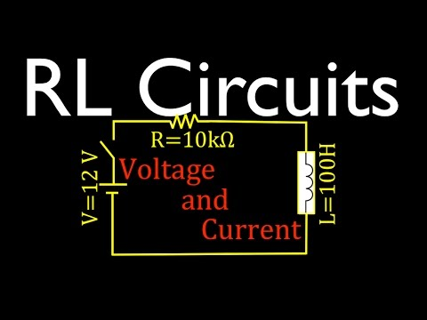RL Circuit Analysis (1 of 8) Voltage and Current