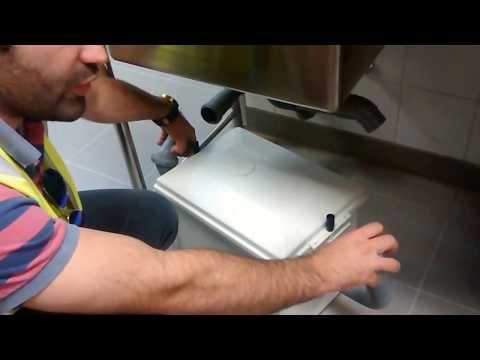 Under Sink Grease Trap - Kessel Germany- Maintenance & Info - Sheraton Doha