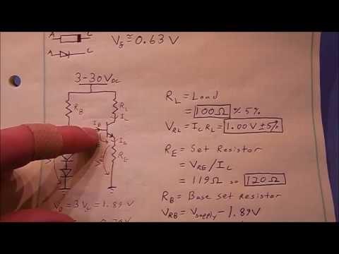 Transistor Constant Current Circuit