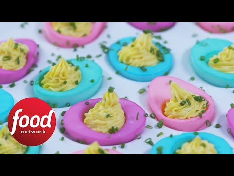 How to Make Colorful Deviled Eggs | Food Network