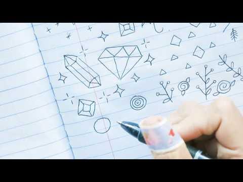 Tumblr Doodles/Bullet Journal/Notebook Doodle Ideas | Doodles by Sarah