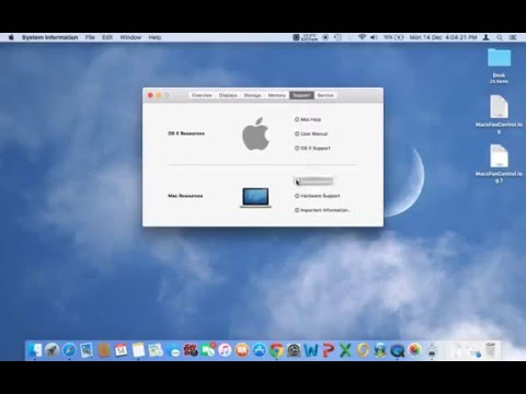 How to check mac hardware configuration