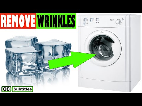 How to remove wrinkles from clothes without an Iron