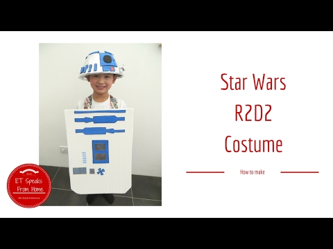 making your own r2d2 costume world book day