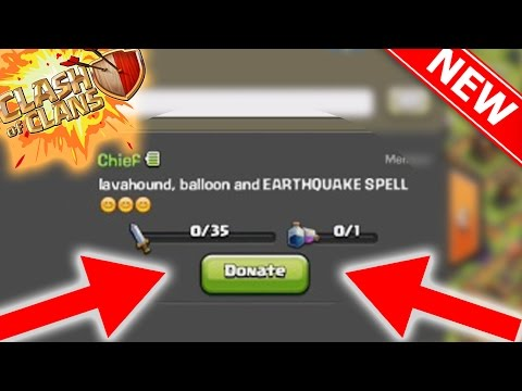 DONATE SPELLS TO CLAN MEMBERS!!! | Town Hall 11 (TH11) Update Gameplay Footage | Clash Of Clans