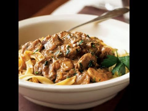 How To Make Light Beef Stroganoff