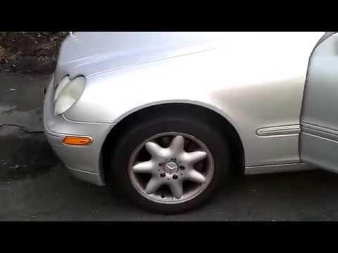 W203 Mercedes-Benz Windshield Wipers Size