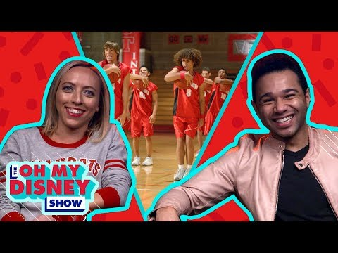 Corbin Bleu From High School Musical | Watch a Disney Movie With by Oh My Disney Show