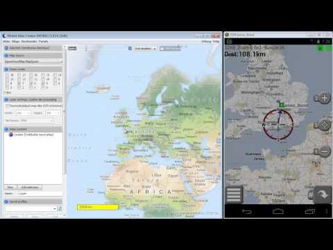 Create offline maps