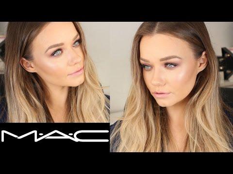 Talk Through MAC Cosmetics Makeup Tutorial   Burgundy x 9 Eyeshadow Palette    Beauty.Life.Michelle