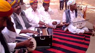 Rajasthani Folk Musicians playing the classic