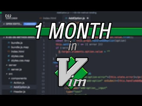 Learning Vim in a Month with Visual Studio Code