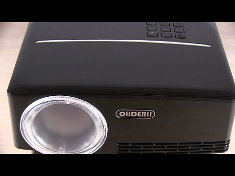 208860f59531 Excellent 1080P hd LED Mini Home Theater Projector Review - ohderii