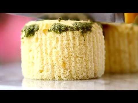 Jiggly Fluffy Sponge Cake