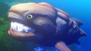 ANCIENT MONSTER FISH - Feed and Grow Fish - Part 42 | Pungence