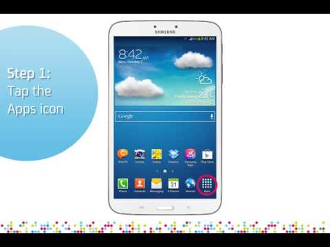 Samsung Galaxy Tab 3: Turn off/on data roaming services