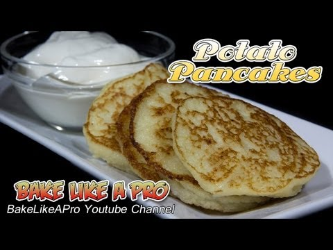 Easy Potato Pancakes recipe ! - Delicious ! - Latkes recipe for Hanukkah