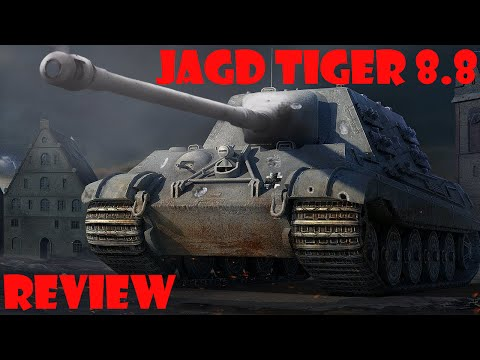 World Of Tanks Xbox 360 - JagdTiger 8.8 cm Review
