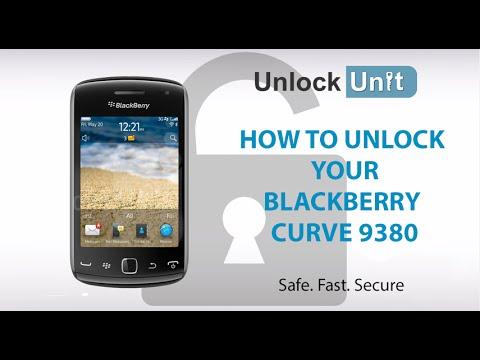 UNLOCK BLACKBERRY CURVE 9380 - HOW TO UNLOCK YOUR BLACKBERRY CURVE 9380