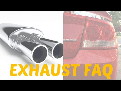 How to Make Your Exhaust Sound SICK!  - 2006-10 Dodge Charger - Exhaust FAQ