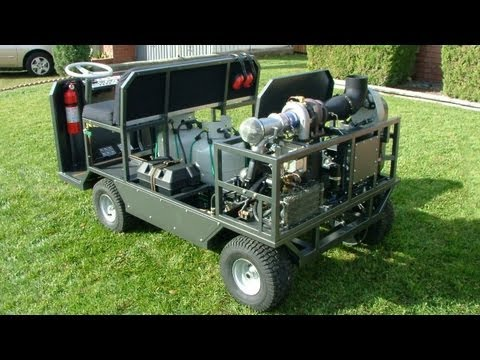GRV-1 DIY Gas Turbine Vehicle